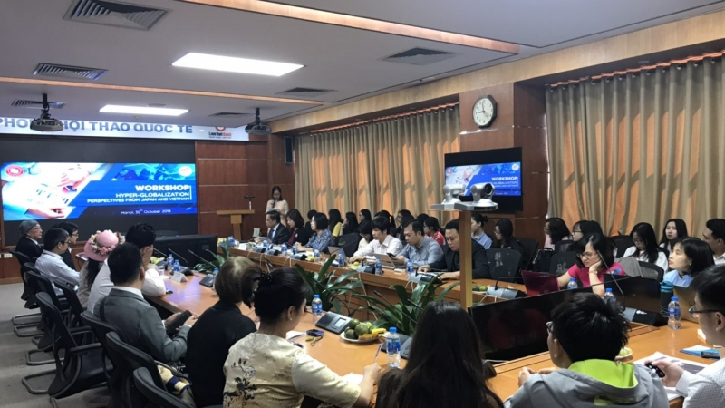 HỘI THẢO HYPER - GLOBALIZATION: PERSPECTIVES FROM JAPAN AND VIETNAM